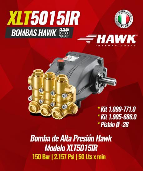 Bomba de alta presión Hawk Modelo XLT5015IR
