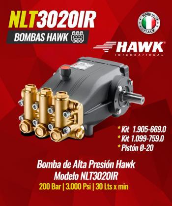 Bomba de alta presión Hawk...